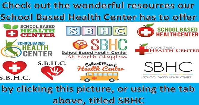 Click Here for Info on the School Based Health Center